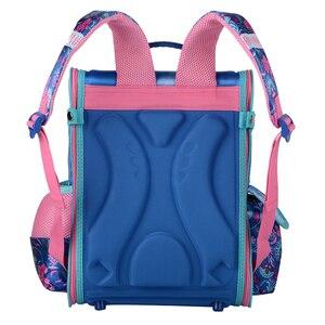 Image 5 - Sac décole orthopédique pour filles, sacs à dos pour école, cartable motif papillon pour enfants, nouvelle collection