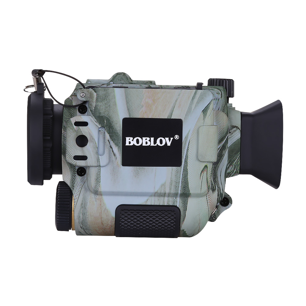 Boblov p4 5x zoom digital visão noturna