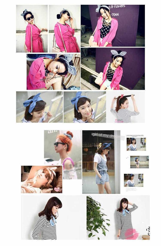 Мода DIY Принцесса кролик повязка для волос для женщин Девушки Цветок головная повязка, аксессуары для волос для женщин головная повязка головной убор скручивание тюрбан