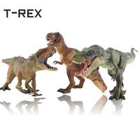 T REX Solid Plastic Dinosaur Model Toy Collectible Jurassic World Animal Figure Toys Gifts