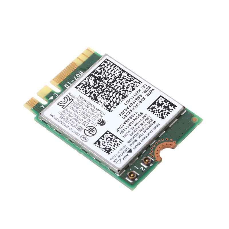 Wireless WiFi Card Dual Band 04X6008 7260NGW AN Bluetooth 4 0 for Lenovo  ThinkPad T440 T440p W540 L440 L540 X240s