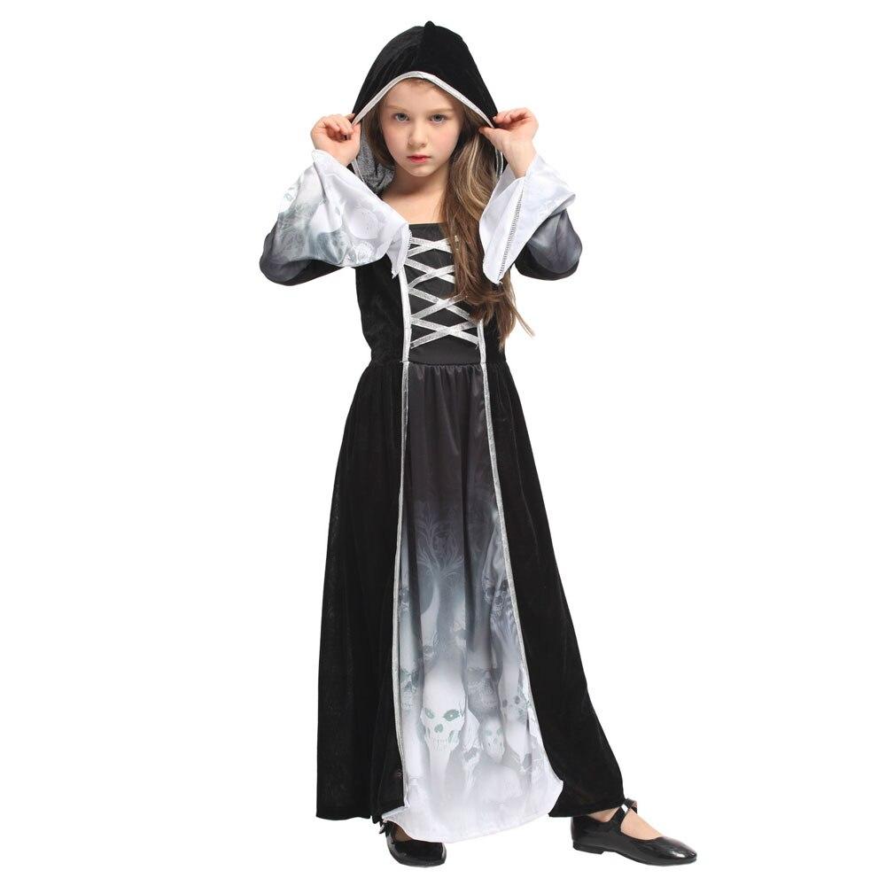 Spooky Grim Reaper Souls Halloween Costume  1