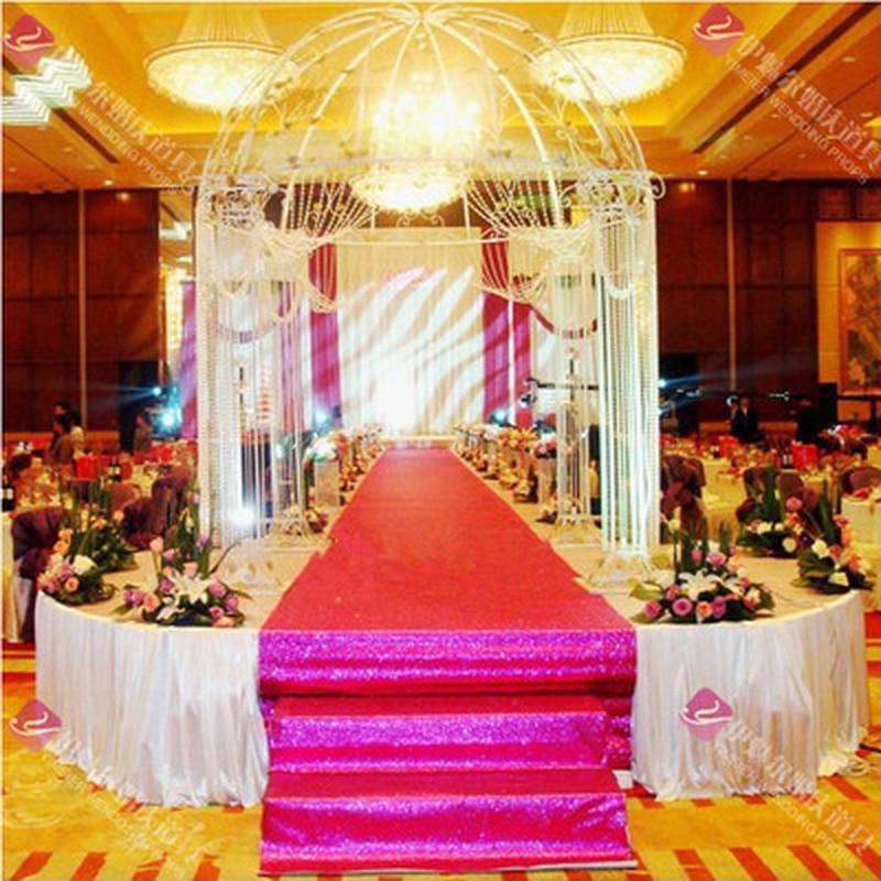 1 M X 10 M Shimmering Tapijt Gang Gouden Bruiloft Gang Rood Gang Voor Bruiloft Banket Decoratie Event 13 Kleuren Gemakkelijk Te Smeren
