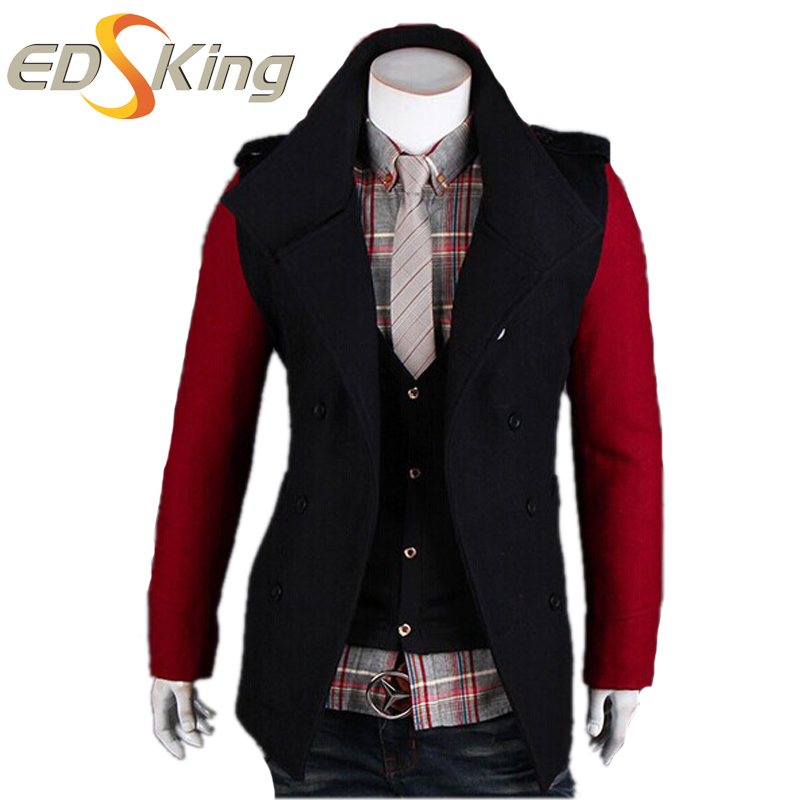 Mens Military Pea Coat Navy Pea Coat Is A Cold Weather Garment ...