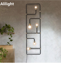 Homemade Lighting On Modern Led Wall Lamp Creative Lighting Light Entrance Hall Homemade Rustic Sconces Staircase Corridor Home Buy Homemade Lighting And Get Free Shipping On Aliexpresscom