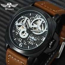 WINNER Official Brand Luxury Military Automatic Mechanical W