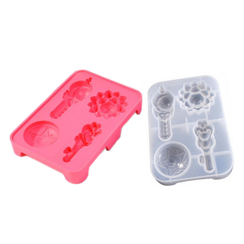 Japanese Handcraft Tool Silicone Soft Mold Moon Rod For Uv Resin or Clay