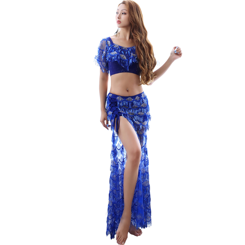 New Woman Sexy Belly Dance Clothes For Woman Belly Dance Skirt Suits Bellydancing Costume