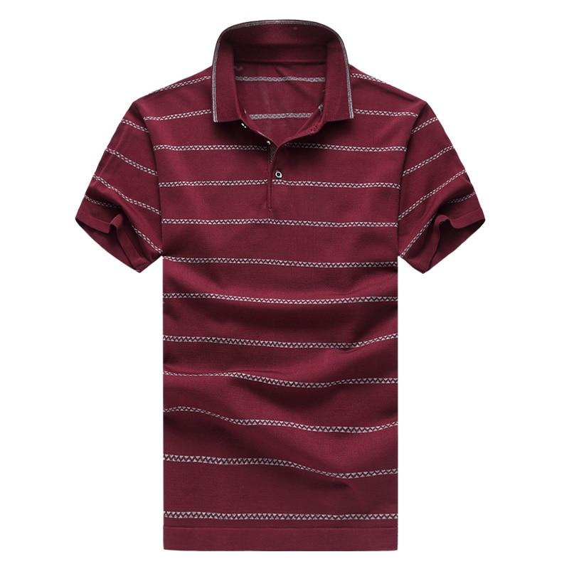 Venta caliente para hombre camisa de polo a rayas verano moda hombre - Ropa de hombre - foto 4