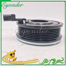 A/C AC Ar Condicionado Conjunto de Embreagem Magnética Compressor Bomba para Ford MONDEO IV BA7 1.8 2.0 6G9119D629KC 1674618 1731790