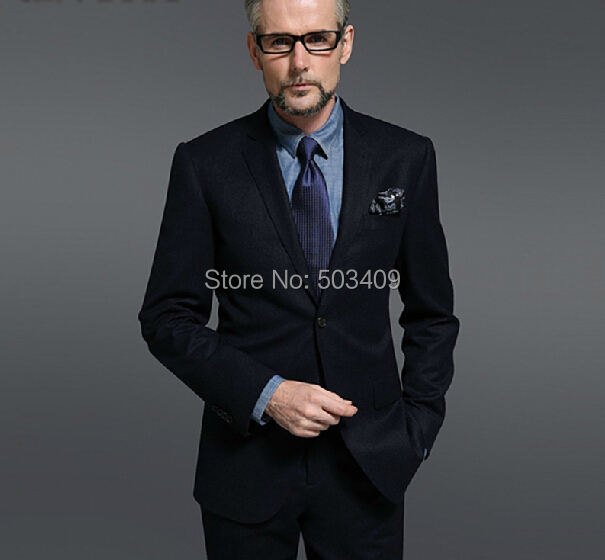 Aliexpress.com : Buy Fashion black suit formal wedding the groom's ...