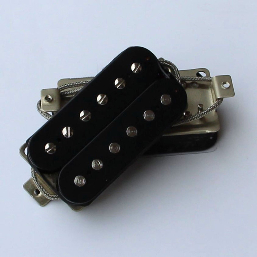 ew vintage 60s alnico v humbucker pickups for type guitar black in guitar parts accessories. Black Bedroom Furniture Sets. Home Design Ideas