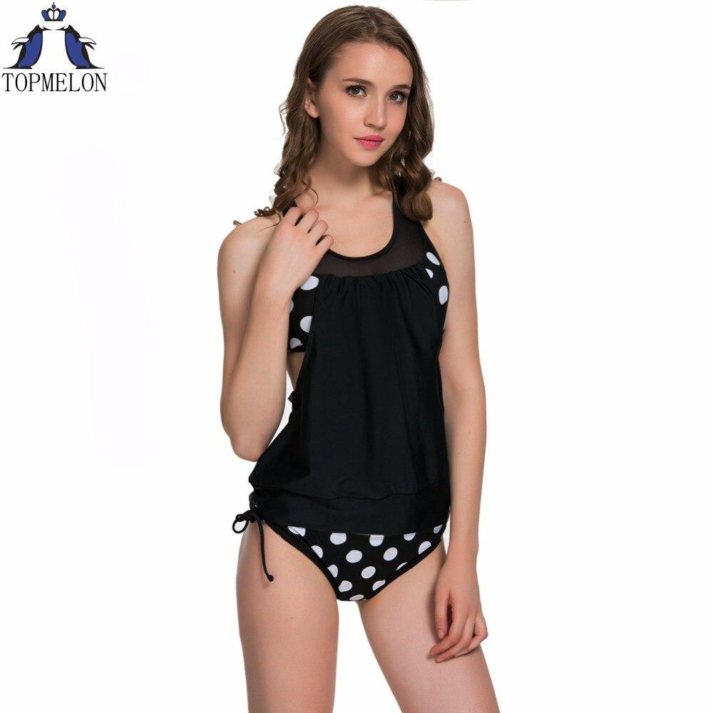 Tankini Femmes Bikini ensemble maillots de bain Maillot de Bain maillot de bain femmes tankini maillots de bain femmes plavky Biquini maillot de bain Monokini
