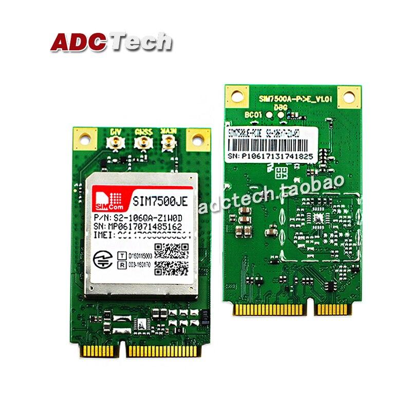 SIM7500JE-PCIE, module PCIE SIM7500JE module LTE 4G