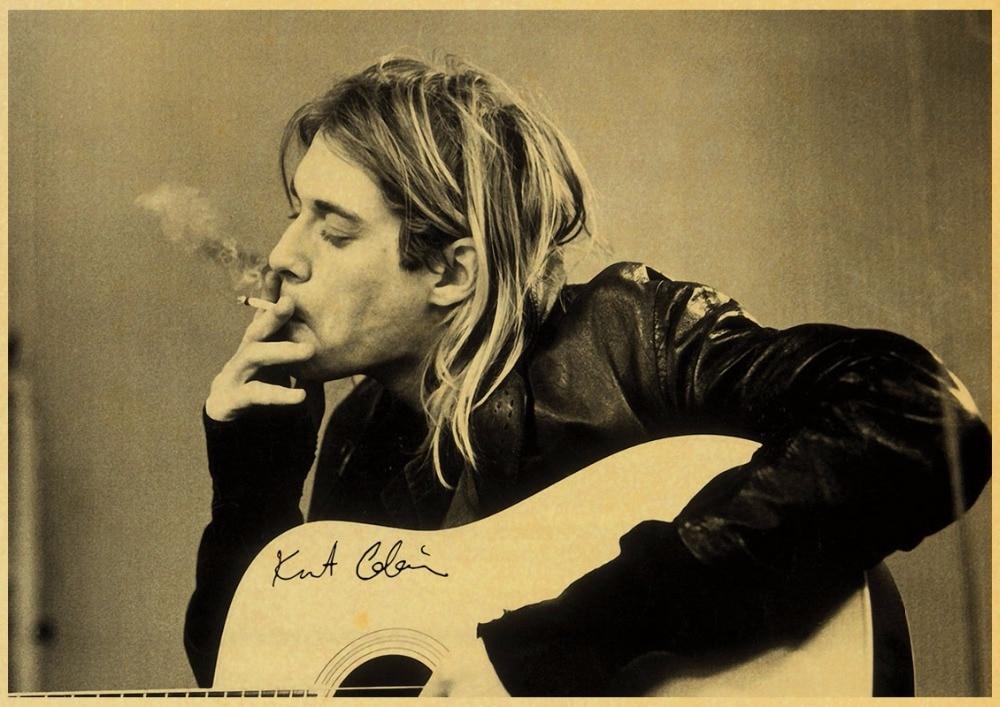 Super Rock Band Nirvana Kurt Cobain Kid Cudi 5D DIY Diamond Painting Full round Drill Embroidery Cross Stitch Needlework in Diamond Painting Cross Stitch from Home Garden