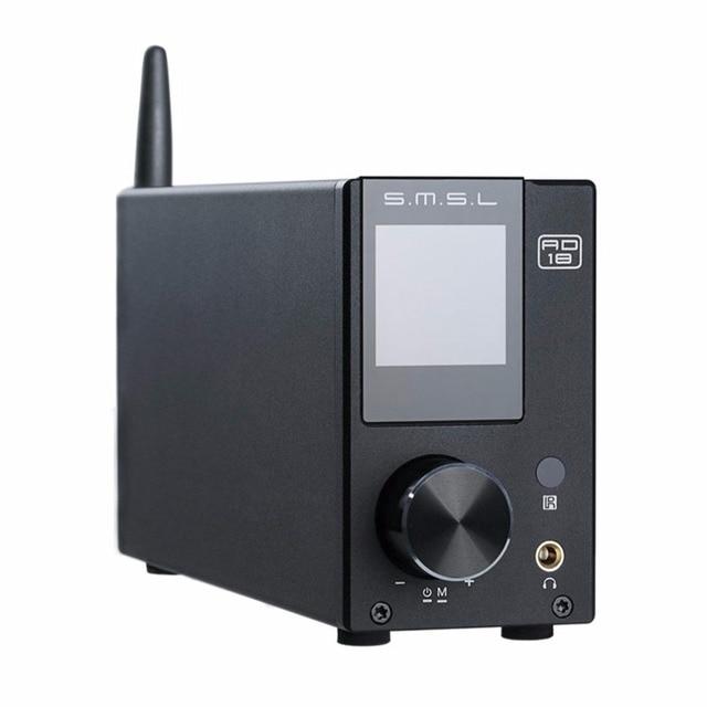smsl ad18 amplifier bluetooth audio amplifier power amplifier 80w stereo usb digital amplificador audio mini amplificador 1