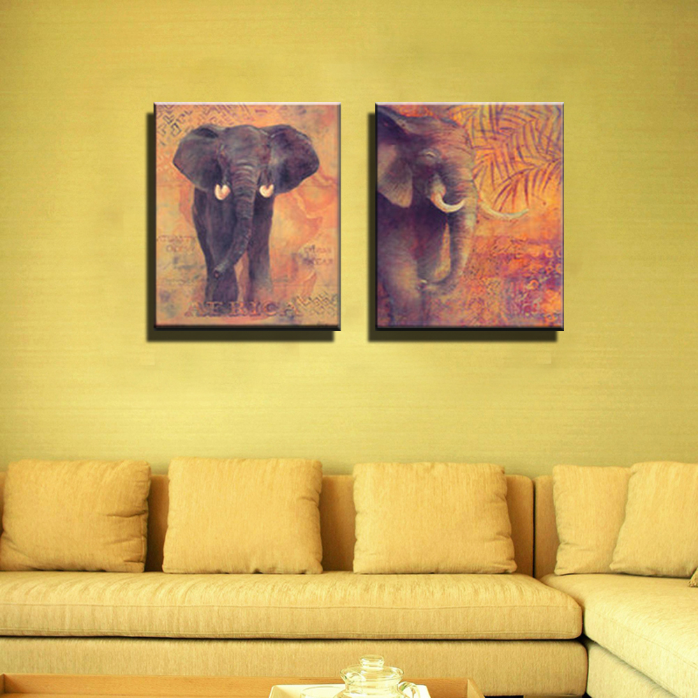 African Abstract modern wall art decor canvas prints for kids room ...