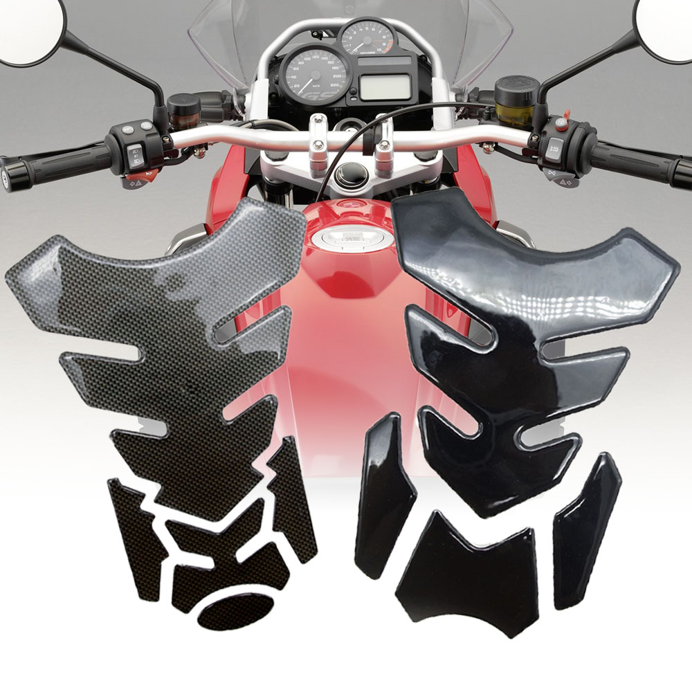 3D Motorcycle Stickers Decals Motorcycle Tank Pad Protector Sticker Pegatinas FOR Crf450 Aprilia Shiver Dl650 Cb1300 M109r Vfr