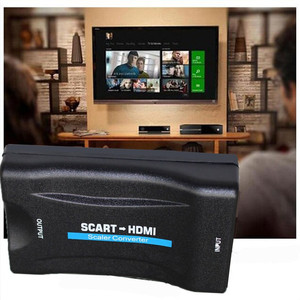 Image 3 - 1080P SCART to MHL HDMI Video Audio Upscale Converter Adapter HD TV DVD Sky Box