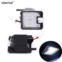 2PCS Canbus Car LED Puddle Mirror Light  for Ford Mondeo MK4 2007-2014 Under Side Lamp