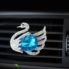 Inlay Water drill Swan car Air conditioning outlet perfume interior accessories fragrance