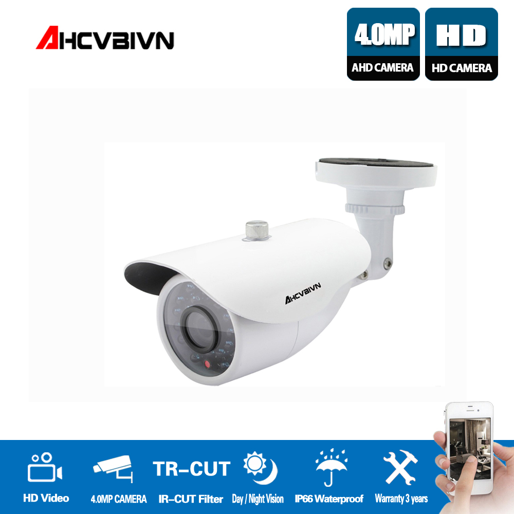 Hot HD 4MP IMX322 AHD-4MP System CCTV AHD Camera Outdoor Waterproof Small Metal Bullet IR 4MP Security Surveillance 2017 newest security ahd 1080p 2 0mp waterproof ir metal cctv bullet camera system cheap product