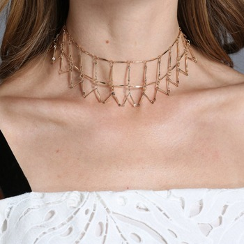 Ingemark Fashion Geometrical Link Chain Choker Necklace Collar Chic party Necklace Accessories Club Jewelry bijoux for Women Чокер