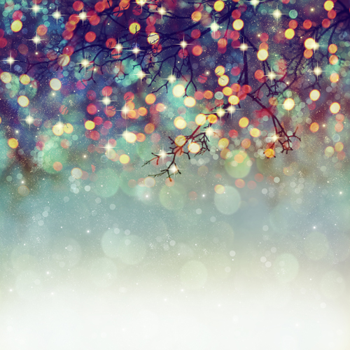 Birthday Photography Lighting: Light Sparkle Glitter Bokeh Bright Spot Printed Photo