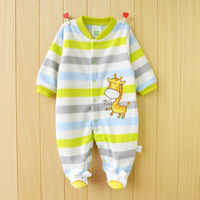 New 2015 Autumn Winter Baby Rompers Clothes Long Sleeved Newborn Boy Girl Polar Fleece Baby Jumpsuit
