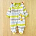 Novo 2015 Outono/Inverno Macacão de Bebê roupas de manga comprida macacões para recém-nascidos Menino Menina Roupa do bebê Polar