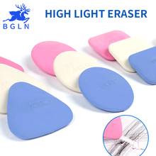 Buy Bgln 5Pcs High Light Professional Art Eraser Sketch Super Clean Real Erasers Cute Sketch Rubber Borracha Escolar randomly color directly from merchant!