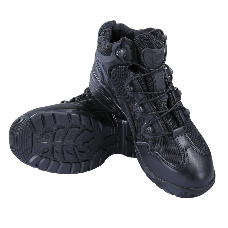 Men Army Tactical Comfort Leather Combat Military Ankle Boots  Desert Shoes Hiking Shoes New Arrive New new outdoor hiking boots special forces tactical boots men s desert combat boots size 39 40 41 42 43 44 45