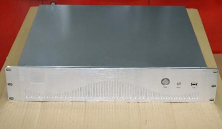 High grade aluminium drawing panel 2U case 2U firewall gateway case router case 2U short case цены онлайн