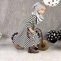 2017 fashion child clothing  children clothes baby girl cotton striped dress kids girls princess dresses vestido da menina