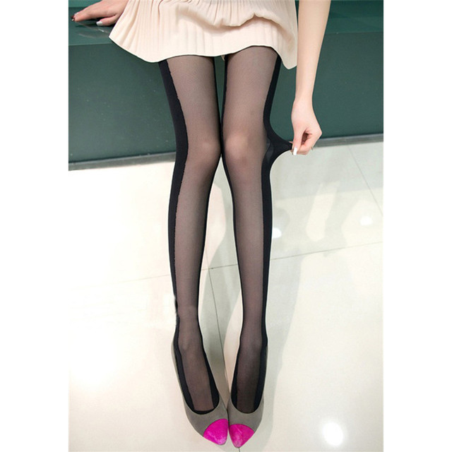 Pantyhose with designs