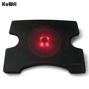 Image 5 - Laptop Cooler Cooling Pad Cooling X Stand for Laptops Notebook PC 14 Inch And Below With 2 USB 2.0 Port Silent Single Fan