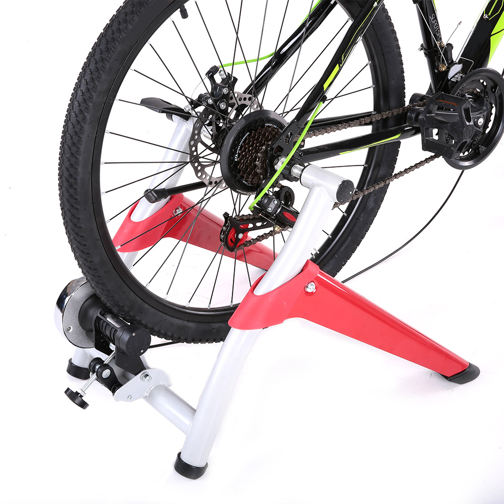Lixada Cycling Bike Trainer Professional Magnetic Indoor Bicycle Bike Trainer Exercise Stand 6 levels of Resistance цена