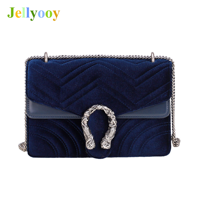 Luxury Brand Bacchus Velvet Handbag Women Chain Shoulder Bag Messenger Bags Female Heart Designer Clutch Big Purse Sac A Main GG new fashion women chain shoulder bag crossbody bag shiny bling lady clutch purse luxury patent leather female handbag sac a main