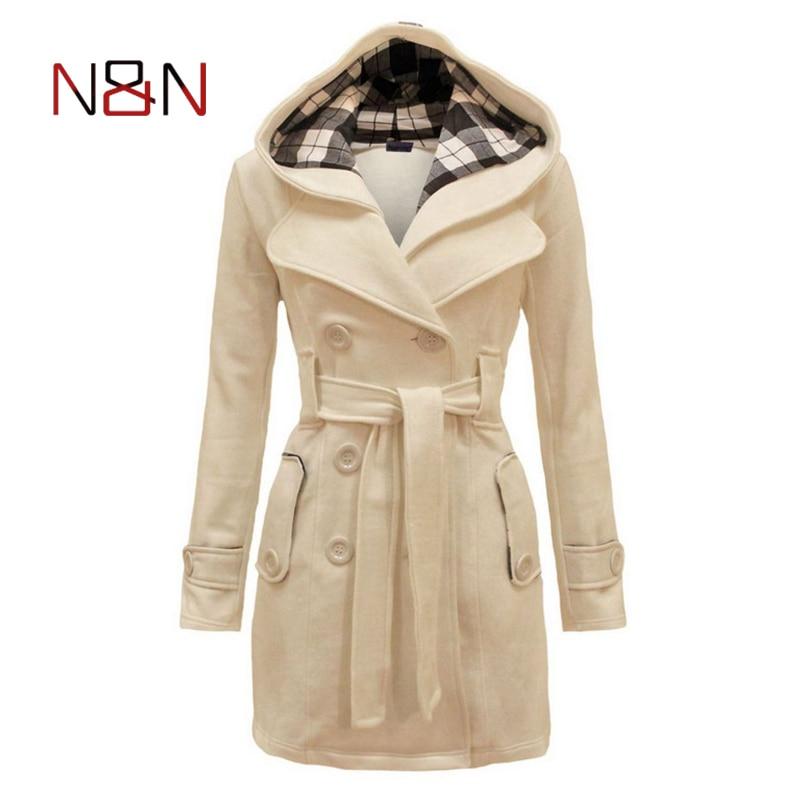 Hoodies Fleece Sweatshirts Coat 2017 Autumn Winter Warm Women Zipper Design Long Sleeve Hooded Outerwear Plus Size NN-MS-002