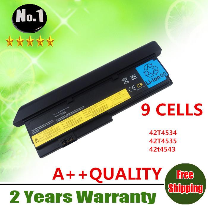 Prix pour En gros Nouveau 9 cellules batterie d'ordinateur portable POUR ThinkPad X200 X200s X201 Série 42T4834 42T4535 42t4543 42T465042T4534 livraison gratuite