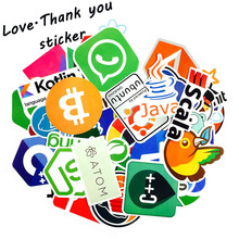 Love·Thank you 10-50 Pcs Internet Java JS Php Html Cloud