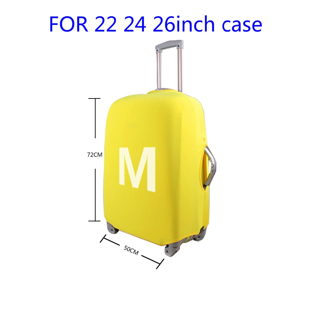 FORUDESIGNS Case Cover Scenery Elastic Travel Accessories for 18-30 inch Suitcase Luggage Protect Cover Fashion Suitcase Covers