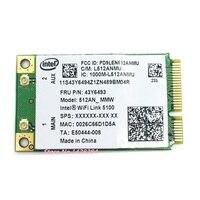 SSEA Für Intel link 5100 5100AN Mini PCI-E WiFi Drahtlose karte für IBM lenovo X200 R400 R500 SL300 SL400 G450 y450 Y430 E43L K43A