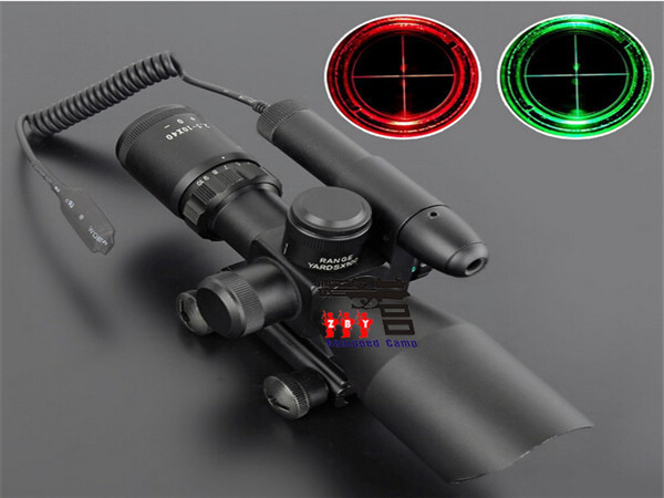 Hijau laser merah hijau dot penampakan teleskop optik