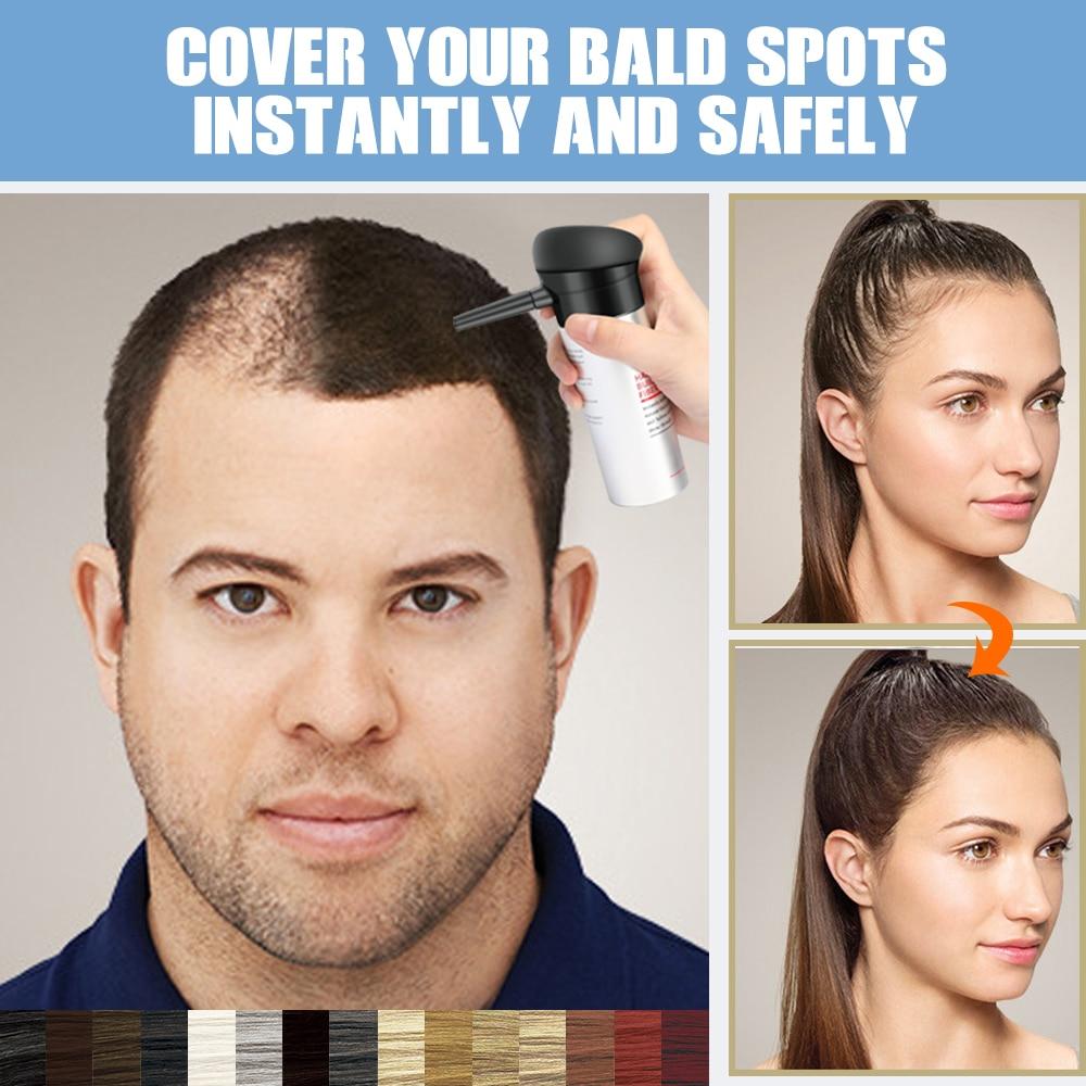 Hair Building Fibers Spray Keratin Thickener Hairline Powder Treatment Hair Growth Spray Anti Hair Loss Products Concealer Fiber