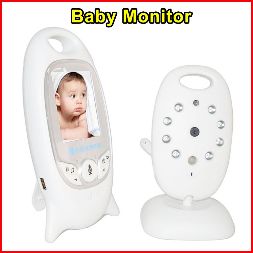 newest vb601 baby monitor 2 0 inch color lcd wireless portable baby security camera baby monitor. Black Bedroom Furniture Sets. Home Design Ideas