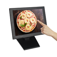Low price 15inch resistive touch monitor VGA interface pos monitor