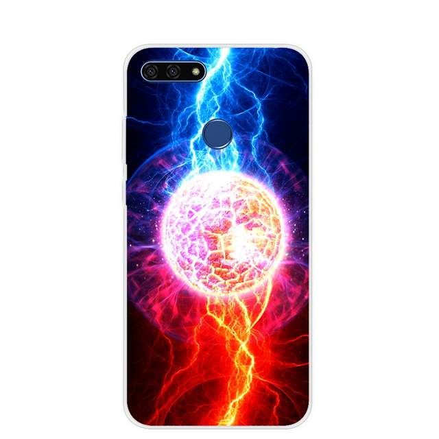quality design 03aaf 551be AUM-L41 Coque For Huawei Honor 7C 5.7 inch Case Silicone Soft TPU Back  Cover For Huawei Honor 7C Case Honor 7 C Honor7C C7 Slim
