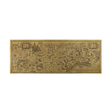 Гарри Поттер Волшебная карта мира знаменитый вид крафт-бумаги постер для бара/Кафе Ретро плакат декоративной живописи 72x26cm