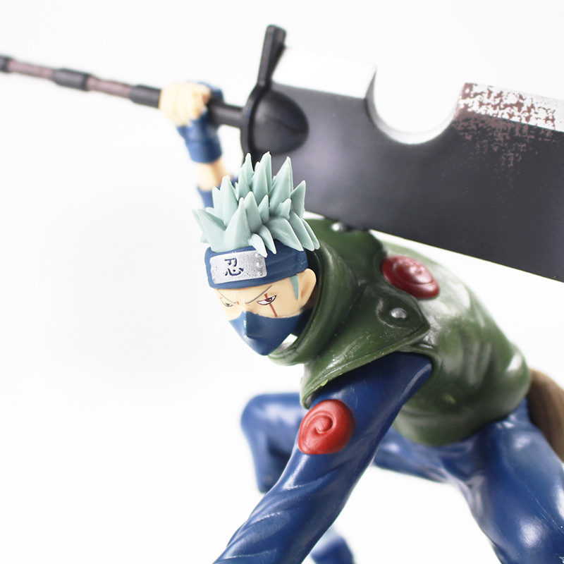 Naruto Shippuuden Hatake Kakashi with Sword Shinobi World War Figurine Ver. PVC Action Figure Collection Model Toys Dolls 4